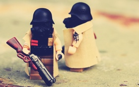 Обои Legos, лего, fallout, Lego, игрушки