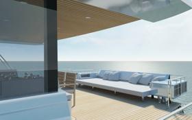 Обои дизайн, люкс, яхта, luxury yacht, интерьер, стиль