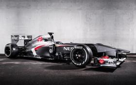 Обои болид, formula 1, race car, заубер, Sauber F1 Team
