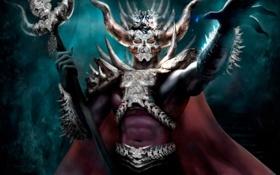 Обои арт, фантастика, Jan Hadzic, sliver overlord