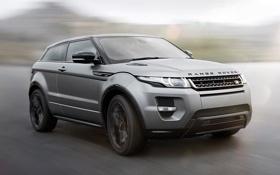 Обои скорость, внедорожник, Land Rover, Range Rover, Coupe, Evoque