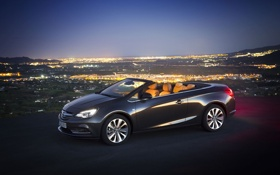 Обои Опель, панорама, Opel, кабриолет, Cascada, Каскада