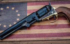 Обои оружие, фон, ствол, револьвер