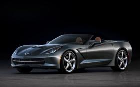 Обои Corvette, Chevrolet, шевроле, красивый, корвет, Convertible, Stingray