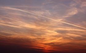 Обои небо, фото, пейзажи, закат солнца, вечер, красивые обои