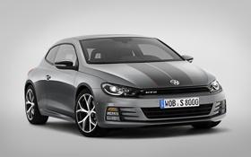 Картинка Volkswagen, фольксваген, GTS, Scirocco, сирокко, 2015