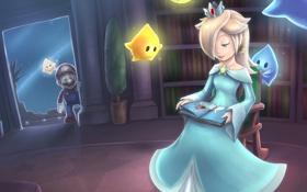 Картинка nintendo, Mario, Rosalina