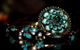 Обои камни, кольцо, Украшения, макро