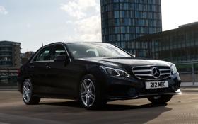 Картинка Mercedes-Benz, седан, мерседес, AMG, передок, BlueTec, E 350