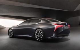 Картинка Concept, лексус, Lexus, концепт, LF FC, сбоку