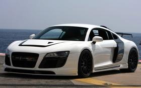Обои Audi, ауди, GTR, white, передняя часть, Razor, PPI