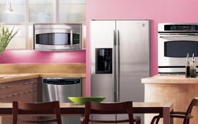 Обои дизайн, дом, стиль, комната, вилла, интерьер, кухня-компьютер