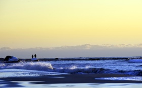 Обои море, небо, пейзаж