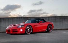 Картинка Dodge, red, viper