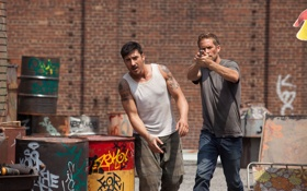 Обои Пол Уокер, Paul Walker, 13-й район, David Belle, Damien, Brick Mansions, Lino