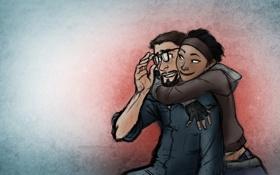 Обои Half-life 2, Alyx Vance, Gordon Freeman, HL2