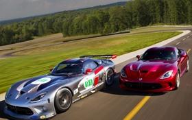 Обои авто, Dodge, Viper, суперкары, GTS, SRT, GTS-R