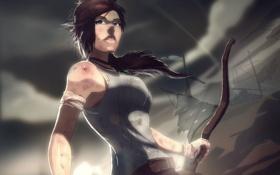 Обои арт, Tomb Raider, lara croft, томб райдер, лара Крофт