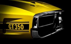 Картинка фон, Ford, классика, 350, Мускул кар