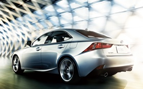 Обои скорость, Lexus, седан, в движении, лексус, IS 350