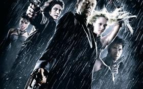 Обои дождь, Город грехов, Sin City