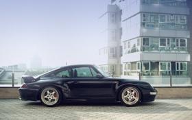 Обои 911, porsche, порше 911, 993, синий суперкар