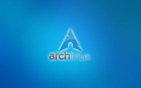 Обои Linux, Операционная система, ArchLinux, минимализм
