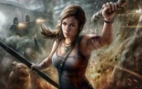 Картинка Tomb Raider, Лара Крофт, Расхитительница гробниц