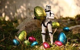 Картинка Пасха, Star Wars, яйца