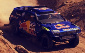 Обои rally, 2011, sand, spanish, argentina, dakar, chile