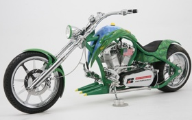 Картинка Кастом, Мотоцикл, Супер, Spider, Чоппер