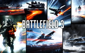 Картинка игры, red, Battlefield 3, tanks, jets