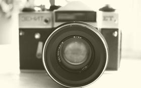 Обои фотик, zenit, фотоаппарат, зенит