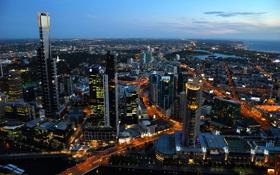 Обои city, город, Melbourne, Australia