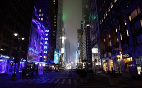Обои нью-йорк, night, usa, ночь, New York, nyc