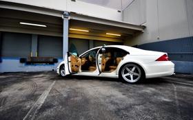 Картинка тачки, mercedes, мерседес, cars, benz, auto wallpapers, авто обои