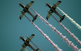 Обои Doha, Planes, Air Show, Qatar National Day