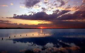 Обои пейзажи, вода, корабль, фото