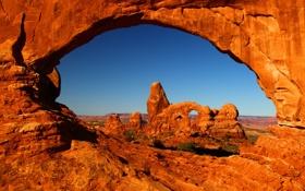 Картинка природа, парк, фото, каньон, США, Utah, Bryce Canyon