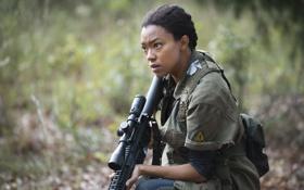 Картинка Sonequa Martin-Green, Sasha, The Walking Dead, Ходячие мертвецы