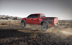 Обои пустыня, Ford, джип, грузовик, форд, desert, пикап
