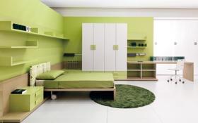 Обои дизайн, стиль, интерьер, жилая комната