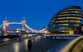 Обои свет, река, люди, Англия, Лондон, лодки, вечер