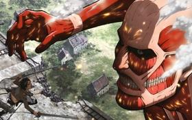 Картинка Art, эрен джаггер, вторжение титанов, eren jaeger, attack of the giants, аниме, shingeki no kyojin