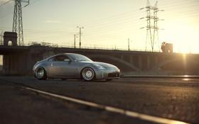 Обои свет, Nissan, 350Z