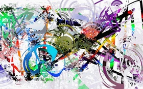 Обои абстракция, форма, цвет