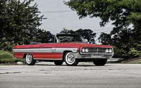 Картинка кабриолет, Convertible, 1962, Oldsmobile, олдсмобиль, Starfire