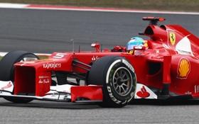Обои Fernando Alonso, Фернандо Алонсо, f2012, Ferrari, Формула 1