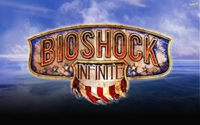 Картинка небо, игра, game, bioshock, постер, биошок, poster