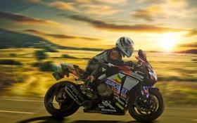 Картинка фон, скорость, мотоцикл